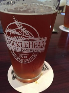 Knucklehead Craft Brewing's Limited Edition take on the Pumpkin Ale, Ichabod's Gourded Ale.